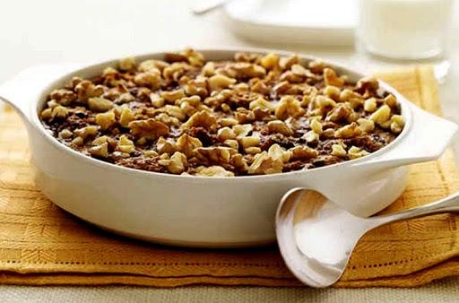 Photo Овсянка с медом и орехами для похудения
